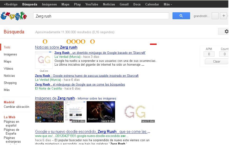 Truco Pc Juego Oculto De Google Broma De Google Rgbuploaders